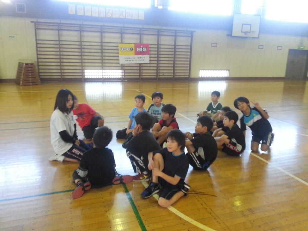 東原小バスケ教室